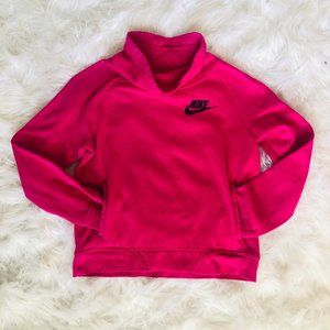 Nike girls pink sweatshirt pullover size Medium